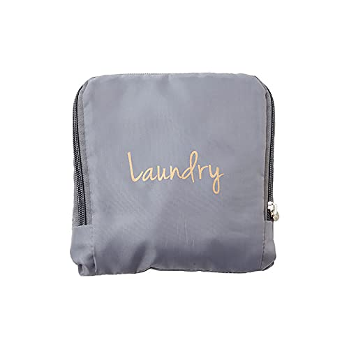 Miamica Laundry Bag, Assorted Styles, Grey/Gold, One Size