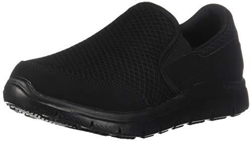Skechers for Work Women's Gozard Walking Shoe, Black, 8.5 M US