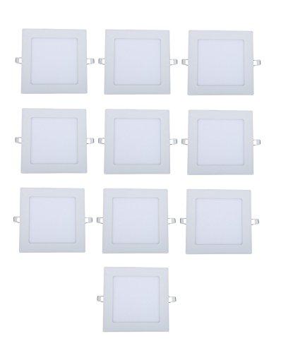 Original 15W LED Cool White Panel Light, Pack of 10