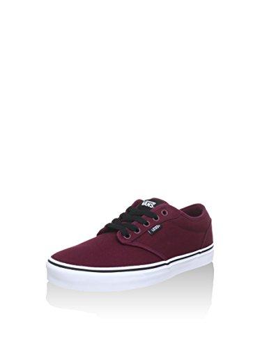 Vans Men Low-Top Sneakers, Red (Oxblood/White), US:10.5