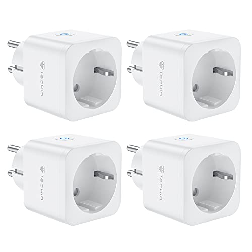 WiFi Enchufe Inteligente 16A 3680W Mini Smart Plug Funciona con...