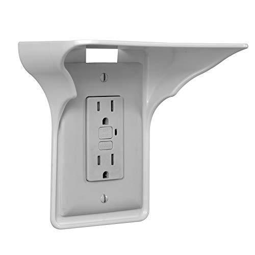 BeraTek Industries Power Perch Single Wall Outlet Shelf. Home...