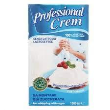 Professional Cream Nata Azucarada para Roscón de Reyes y Po