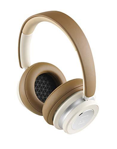 Dali - Kopfhörer IO-6 - Kabellosen/Bluetooth - aktive Rauschunterdrückung - Akkulaufzeit: 30 Stunden - Mikrofon eingebaut - schalldicht - DREI Bedienelemente - Farbe: Karamelweiß