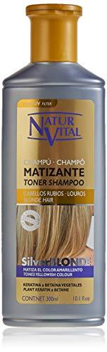 NaturVital SilverBlonde Champú Matizante para Cabellos Rubi