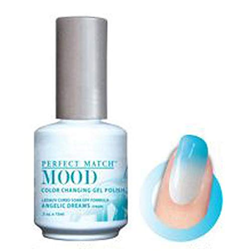 LECHAT Perfect Match MOOD COOL Color Changing Gel Polish Angelic Dreams 0.5 Oz