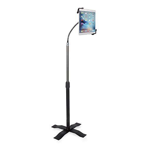 CTA Digital: Height-Adjustable Gooseneck Stand with Metal...