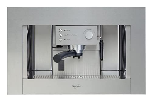 Whirlpool - Cafetera Encastre Ace010Ix, Espresso, Semi-Automatica, 15 Bar, 1.5L, Inox