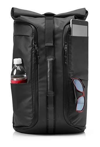 HP Pavilion Wayfarer Zaino per notebook fino a 15', tasca RFID, scomparto TSA, Nero