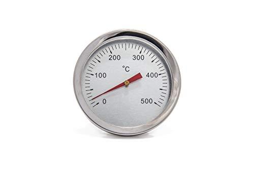 Giemme Spoleto Termometro Inox da Pannello 500 C per Forno