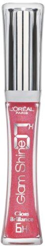 L'Oreal Paris Glam Shine 6H Lip Gloss / Gloss Brllance Perennial Rose (113)