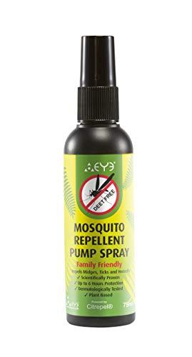THEYE Spray anti-moustique naturel Spray anti-insectes à pompe sans DEET...