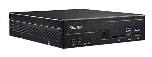 SHUTTLE Barebone XPC Slim DH310S schwarz Intel S1151V2 2 x 16GB SO-DIMM DDR4-2400 4+4+0 4X USB3 1x HDMI 1x DP