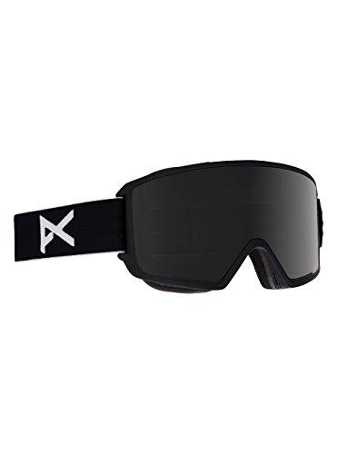 Anon M3 Polarized, Maschera da Sci e Snowboard Uomo, Black/Polar Smoke, Taglia Unica