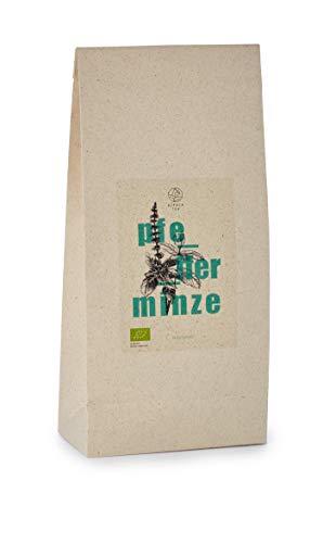 Bio Pfefferminz Tee   750g   Graspapierverpackung   getrocknete Pfefferminze für Tee