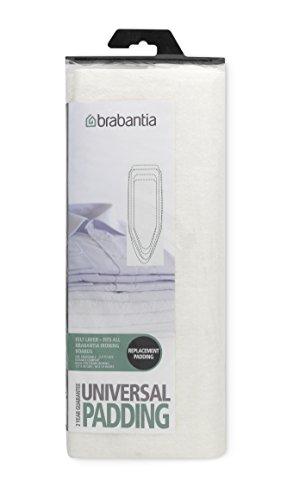 Brabantia Cover Mollettone Universale Ritagliabile, Tessuto, Bianco