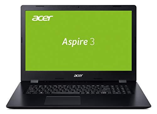 Acer Aspire 3 (A317-32-P62H) 43,9 cm (17,3 Zoll HD+) Multimedia Notebook (Intel Pentium N5000, 8 GB RAM, 256 GB PCIe SSD, Intel UHD, Win 10 Home) schwarz