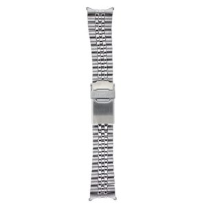 Seiko Original Stainless Steel Jubilee Watch Band 22mm and Genuine Seiko Spring Bars 51
