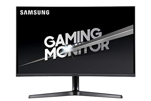 Samsung 32-Inch CJG56 144Hz Curved Gaming Monitor (LC32JG56QQNXZA)  WQHD Computer Monitor, 2560 x 1440p Resolution, 4ms Response, Game Mode, HDMI, AMD FreeSync, Black