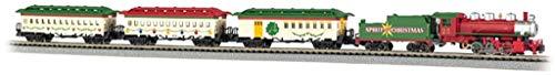 Bachmann-Trains-Spirit-Of-Christmas-Ready-To-Run-Electric-Train-Set-N-Scale