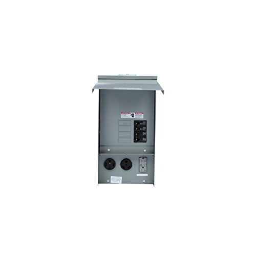 Siemens TL137US Talon Temporary Power Outlet Panel with a 20, 30, and...