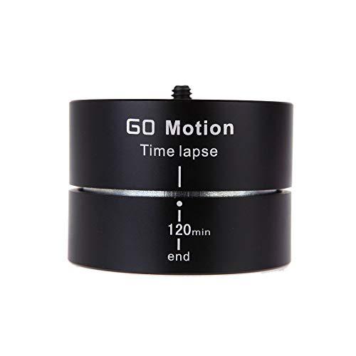 Gearmax 360 ° Rotating Ballhead Time Lapse 120 minuti panning rotazione cavalletto tempo adattatore stabilizzatore lasso treppiede per GoPro ILDC cellulare