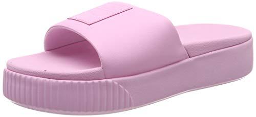 PUMA Platform Slide Wns, Zapatos de Playa y Piscina Mujer, Rosa (Pale Pink-Pale Pink), 39 EU