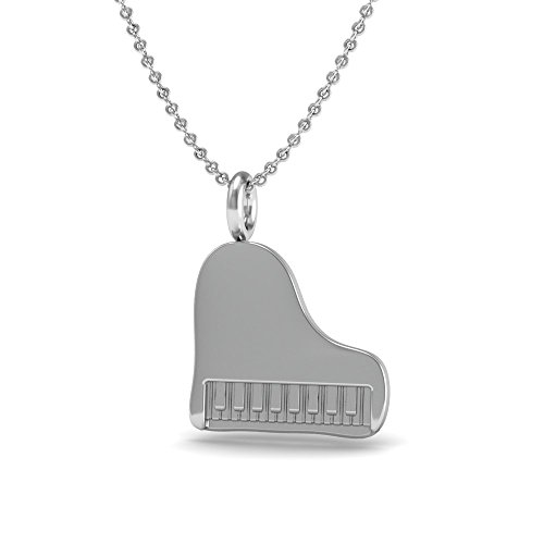 The Best Piano Pendant Necklace.925 Sterling Silver 18 Inch...