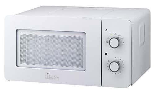 bkitchen Mini 150 - Microonde Compatto con Funzione scongelamento e Diamond Cavity per Un...