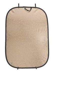 Lastolite LLLR7236 - Panelite, 125 x 180 cm, sunfire/plata