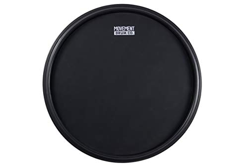 The 12-inch Double Sided Practice Drum Pad, 4-in-1 Laminate + Conditioning - Fully Rimmed With Four Different Hitting Surfaces, The Most Complete Practice Pad In The Market