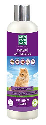 MENFORSAN Champú Anti-Insectos con Margosa, Geraniol Y Lavandino -...