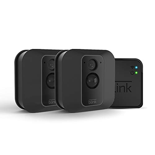 Blink XT2 Outdoor/Indoor Smart Security Camera with cloud storage included, 2-way audio, 2-year battery life  2 camera kit