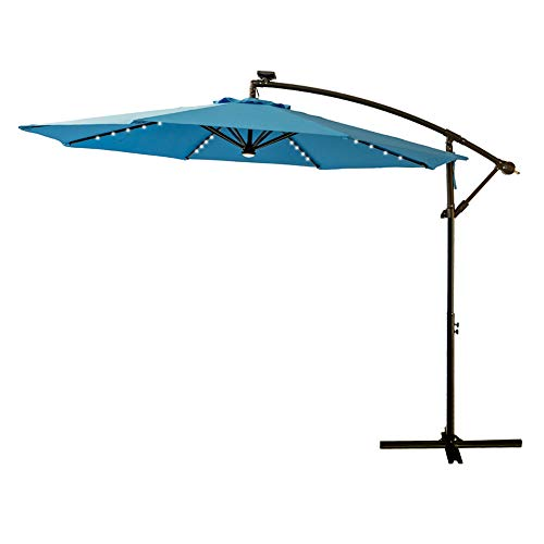FLAME&SHADE 10' LED Outdoor Cantilever Hanging