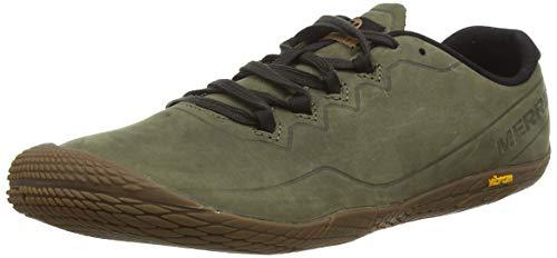 Merrell Herren Vapor Glove 3 Luna Leather Sneaker, Grün (Dusty Olive), 43.5 EU