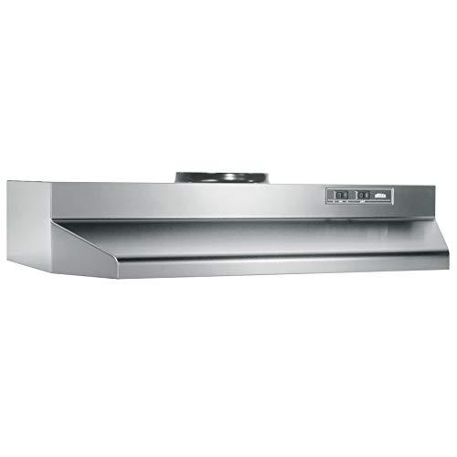 Broan-NuTone 423004 Range Hood, 30-Inch, Stainless Steel