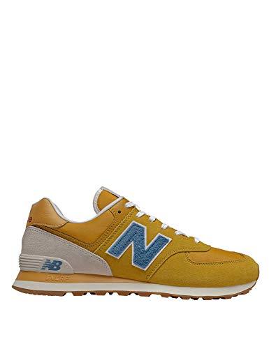 New Balance, Sneakers, 574 SCB, Sportschuhe für Herren, Gelb - gelb -...