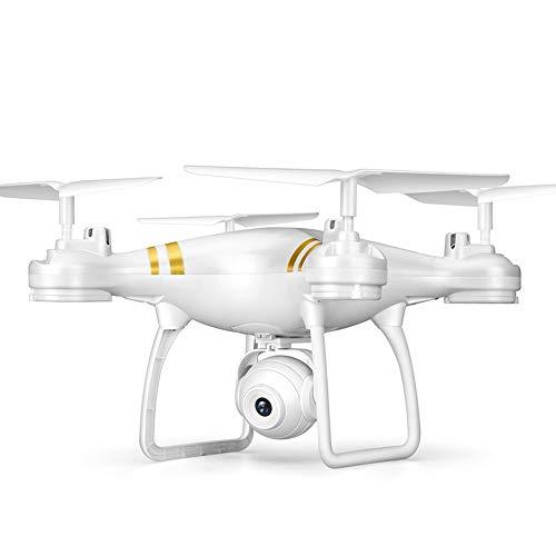 TXD Quadcopter Drone w / 1080 p Videocamera HD, Super Long Life 120 Grandangolo (Color : White)
