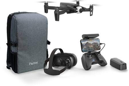 Parrot - Drone 4K Pack Anafi FPV + 1 batteria supplementare