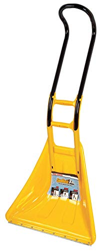Snow Pusher, Polycarbonate, Steel Blade Material, 26' Blade Width, 21' Blade Height