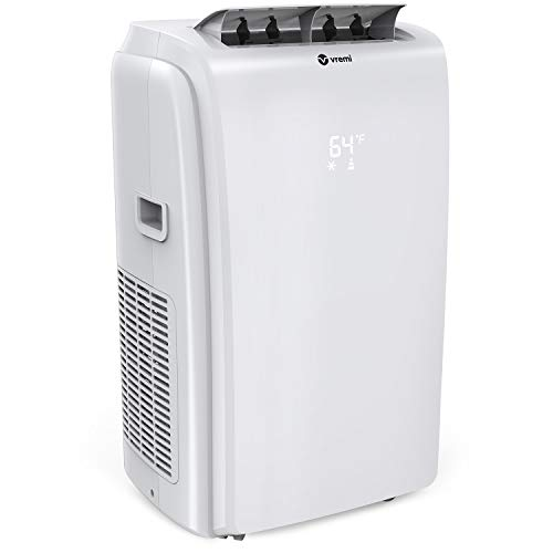 Vremi 12,000 BTU Portable Air Conditioner - Conveniently Cools Rooms 350 to 500 Square Feet