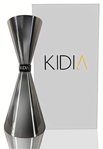 Kidia - Jigger in Acciaio Inox Inossidabile,Dosatore Cocktail per Attrezzatura Bar,Misurino graduato