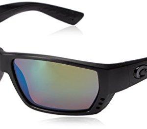 Costa Del Mar Men's Tuna Alley 580g Rectangular Sunglasses