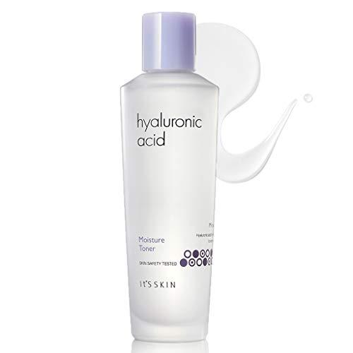 It'S SKIN Hyaluronic Acid Moisture Toner 150ml (5.07 fl.oz.) - - Containing Vitamin C & Acerola Extract Skin Moisturizing & Soothing Facial Toner, Skin Smooth & Vitality