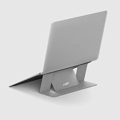 国内正規代理店 MOFT 超軽量 ノートスタンド Adhesive Foldable Laptop Stand (シルバー)