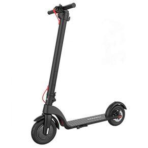 Patinete eléctrico, scooter eléctrico, patinete eléctrico, plegable, 350 W, velocidad máxima hasta 25 km/h, certificado…