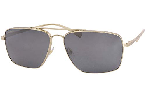 3171RGOnppL Brand: Versace Model: 2216 Style: Pilot Temple/Frame Color: Gold - 1002/Z3 Lens: Polarized Grey/Silver Mirror Size: Lens-61 Bridge-15 B-Vertical Height-45.6 ED-Effective Diameter-67.1 Temple-140mm Gender: Men's Frame Material: Metal Geofit: Global Base: Base 6 Decentered 1-Year Manufacturer Warranty