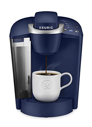 Keurig K-Classic Coffee Maker, Single Serve K-Cup Pod Coffee Brewer, 6 to 10 oz. Brew Sizes, Blue