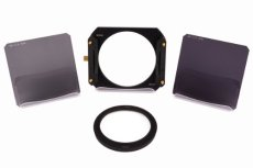 Formatt-Hitech - Kit de iniciación (densidad neutra, estándar, resina, 100 x 100 mm, adaptador de 77 mm)