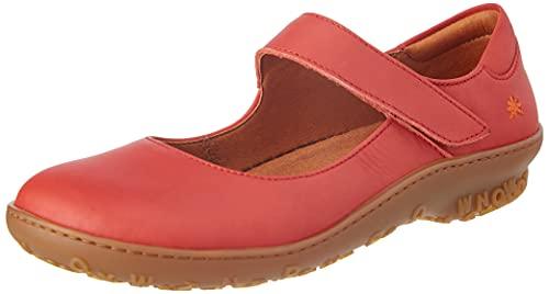Art Antibes, Zapatos Planos Mary Jane Mujer, Coral, 38 EU